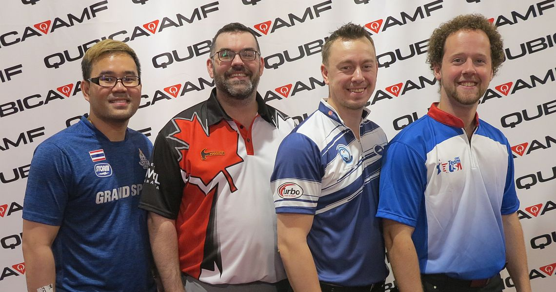 Kyle Troup achieves perfection; wins qualifying at 54th Bowling World Cup