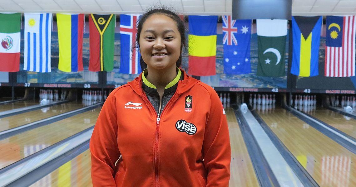 Latvia S Diana Zavjalova Takes The Early Lead In Bowling