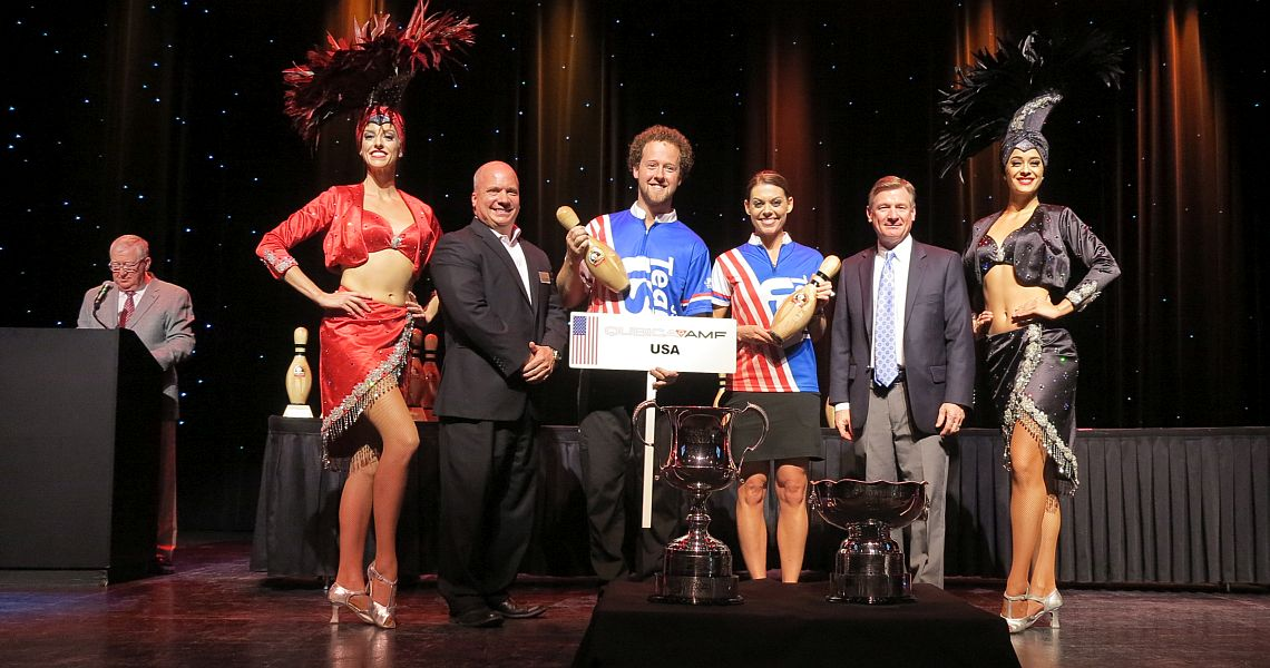 54th QubicaAMF Bowling World Cup is underway at Sam's Town Las Vegas