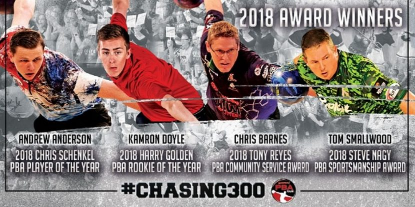 Andrew Anderson, Kamron Doyle win 2018 PBA top player honors