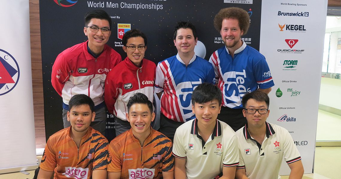 USA takes early lead in Doubles preliminaries at World Men Championships