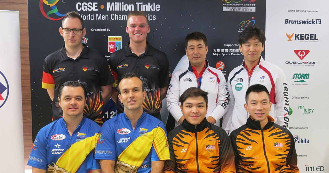 Malaysia charges into the lead in Doubles at Men's Worlds in Hong Kong
