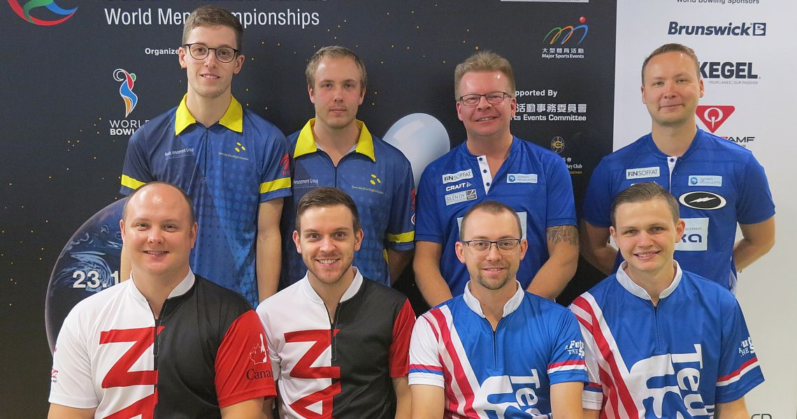 USA, Canada shoot into Doubles lead at World Men Championships