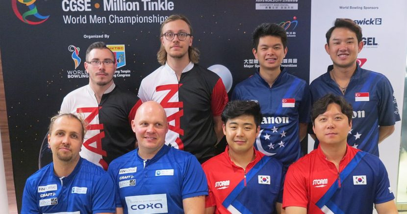 USA, Canada, Malaysia, Korea advance to the medal round in Doubles