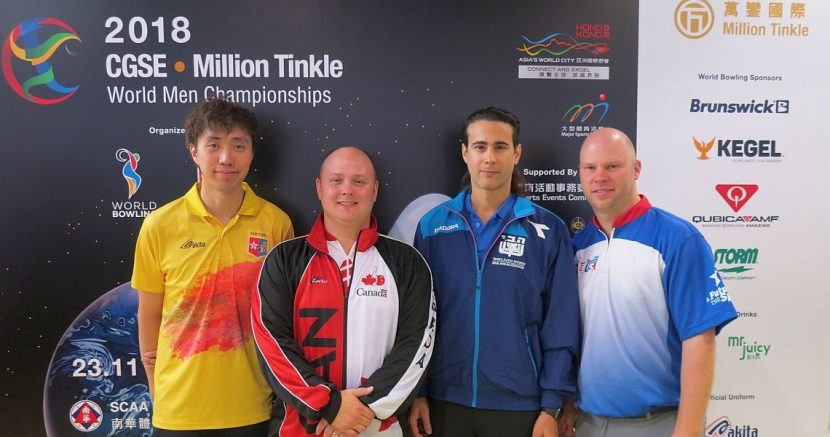 Canada's Dan MacLelland cracks top 4 in Singles at Men's Worlds in HK