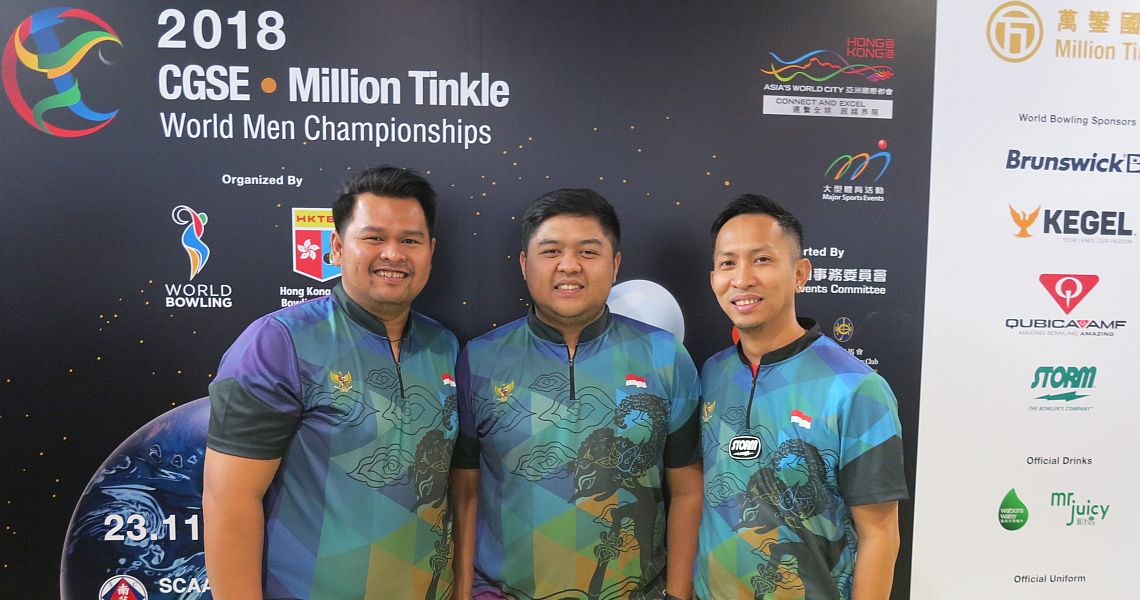 Indonesia sets the pace in Trios at World Men Championships