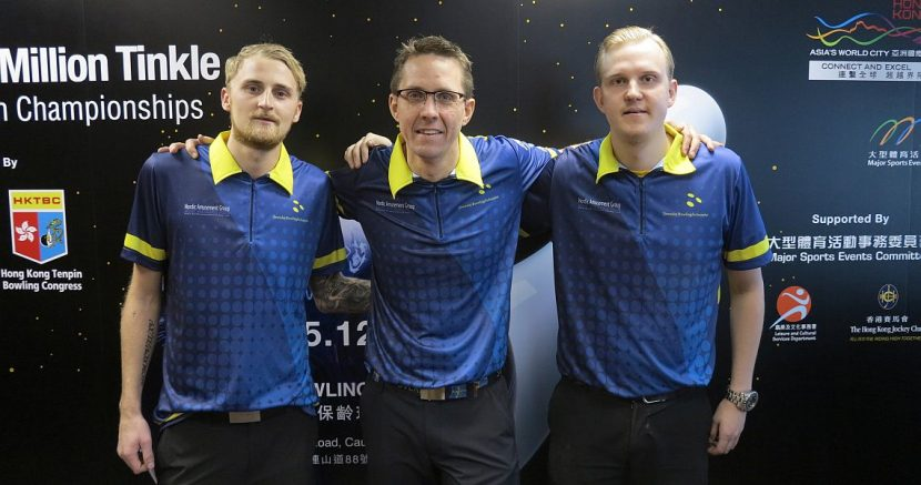 Sweden takes the lead in the second Squad in Trios event at WMC