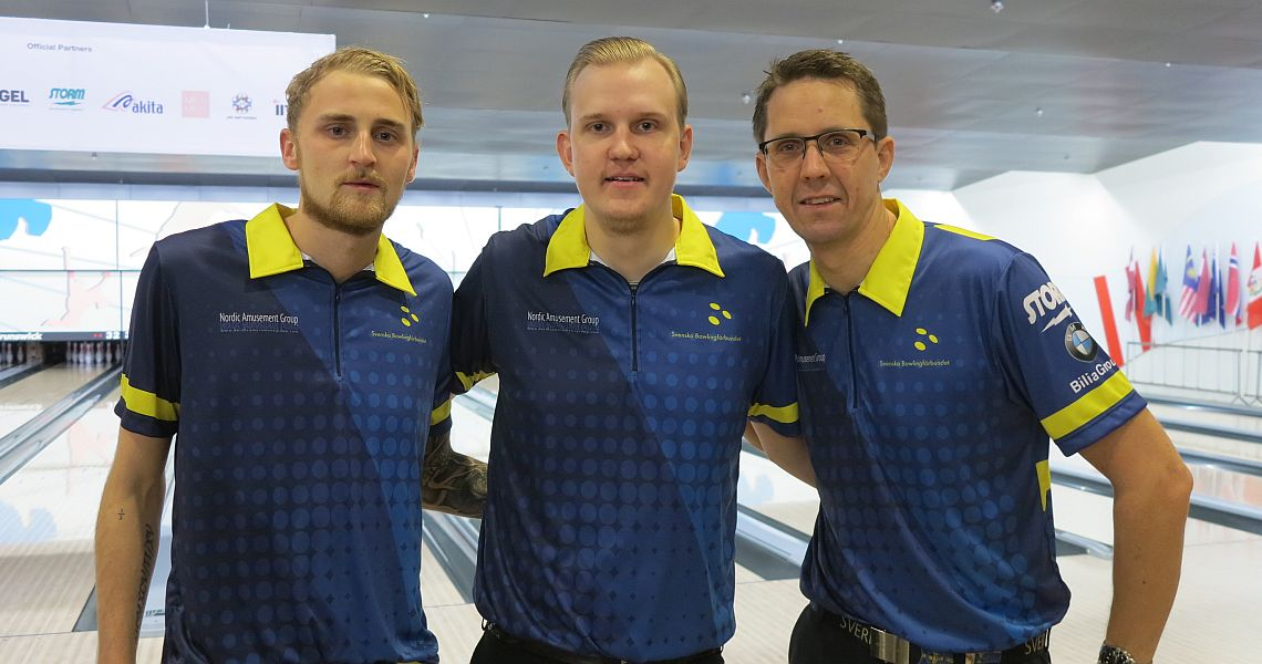 Sweden continues to lead as Squad 2 has completed the WMC Trios Preliminaries