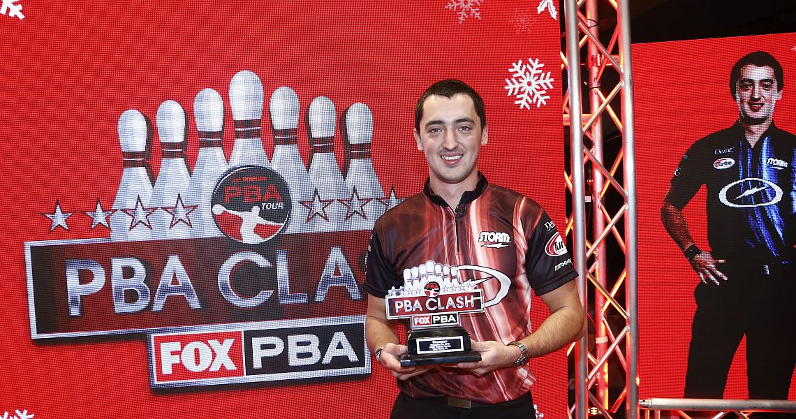 Marshall Kent wins 2018 PBA Clash in landmark FOX Sports telecast
