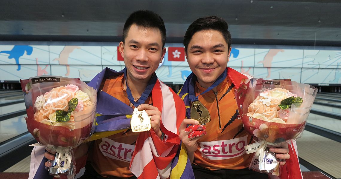 Ang & Hakim win second gold for Malaysia in Doubles at World Men Championships