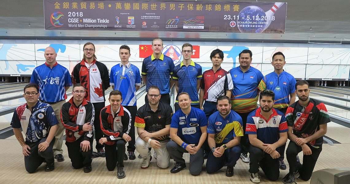 Masters Finals are underway at World Men Championships