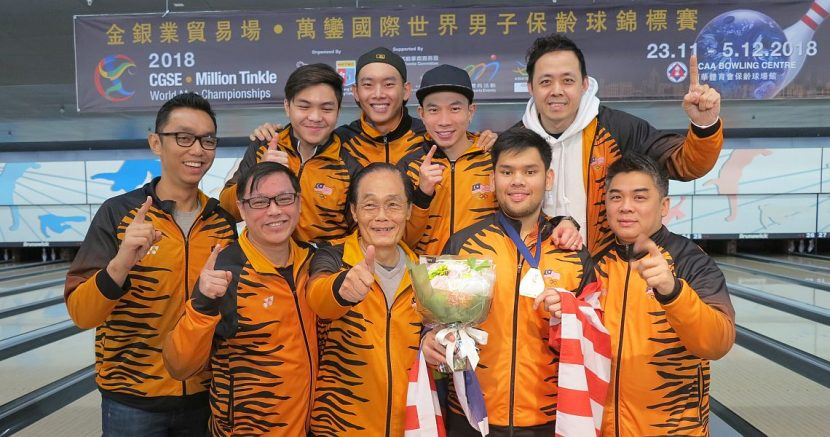 Rafiq Ismail wins historic gold medal for Malaysia at World Men Championships