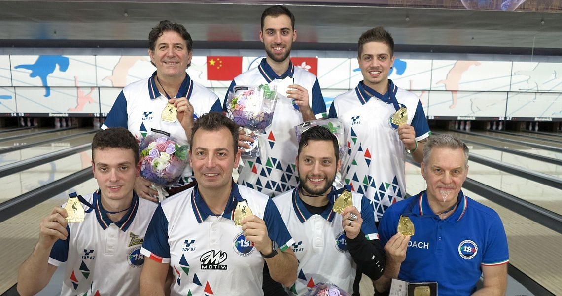 Italy upsets Canada and USA to win Team gold at World Men Championships
