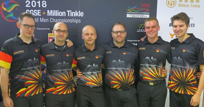 Germany leads opening squad of the Team event at World Men Championships