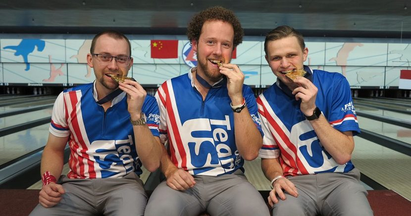 Team USA wins another gold medal in Trios in Hong Kong, China