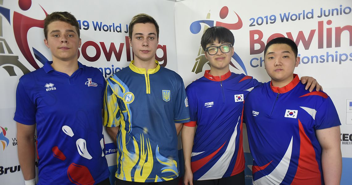 Korea, Russia take early lead in Singles at World Junior Bowling Championships
