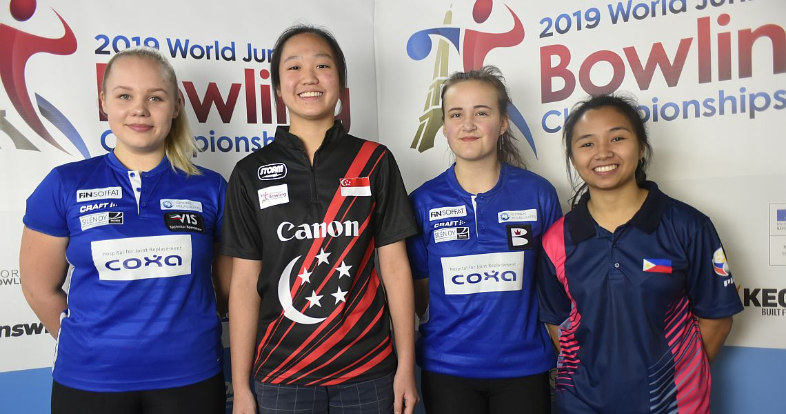 Field set for the medal round in Singles at World Junior Bowling Championships