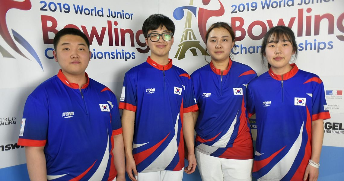 Korea and Mexico to bowl for the Team gold medal