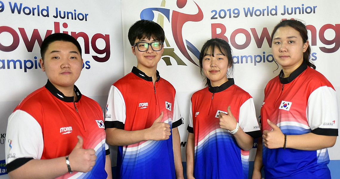 Korea dominates Medal Tally as World Junior Championships conclude in Paris